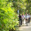 Bike trip in small villalge