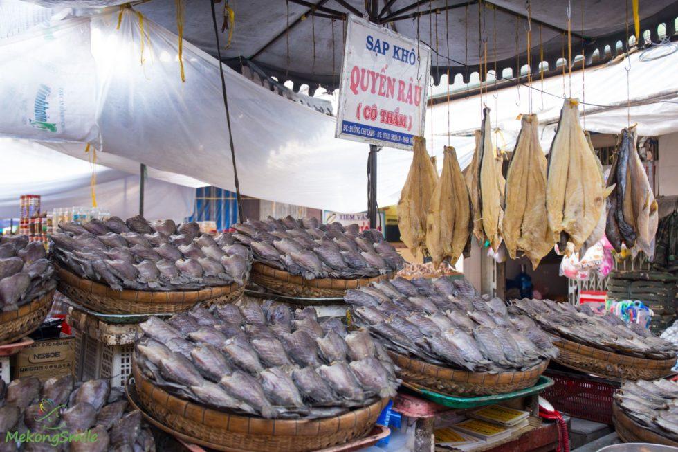 Local market in Chau Doc