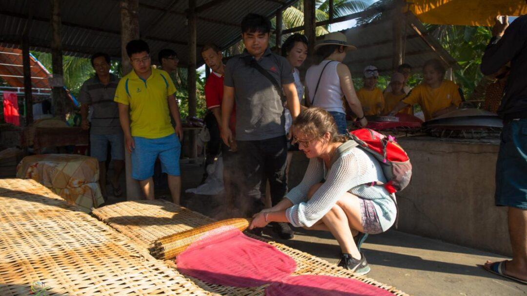 Meking Rice noodle in Mekong Delta