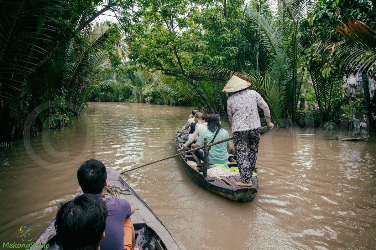 Small Canal in Mekong Delta