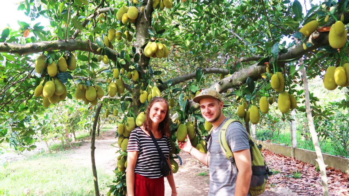 Can Tho tropical fruit garden - Mekong delta adventure tour