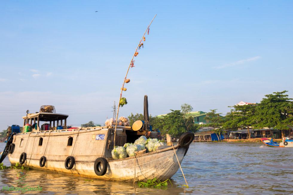 Floating Market bamboo stick
