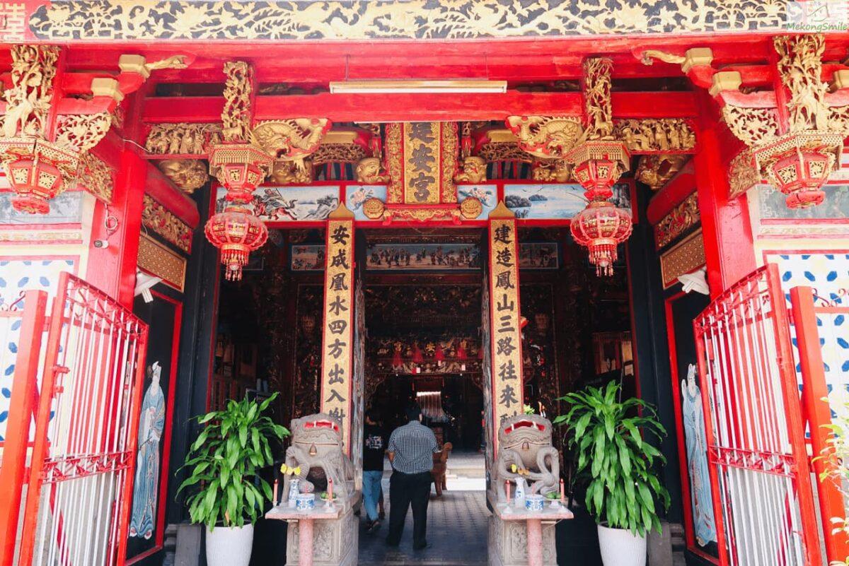 Kien An Cung pagoda in Dong Thap
