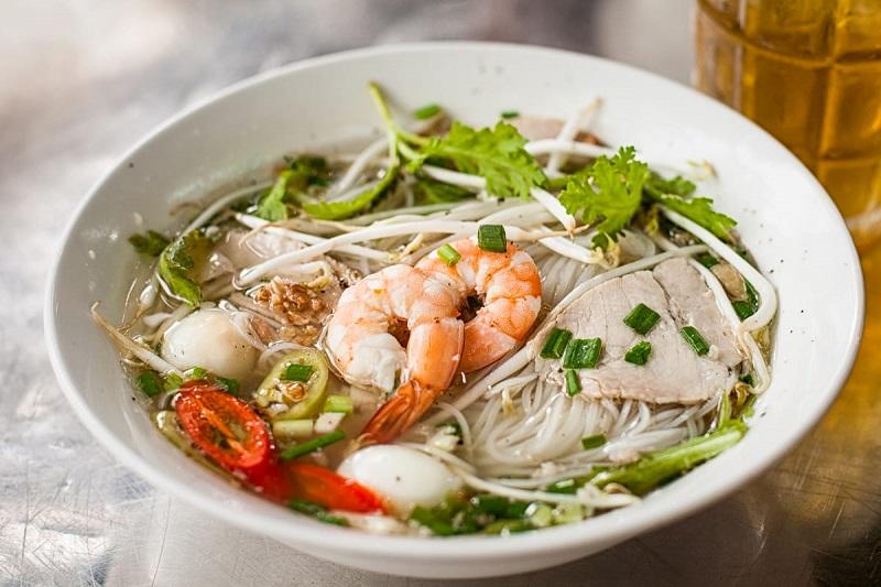 Hu tieu - Rice noodle soup