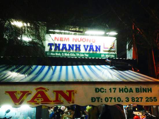 Nem Nuong Thanh Van restaurant