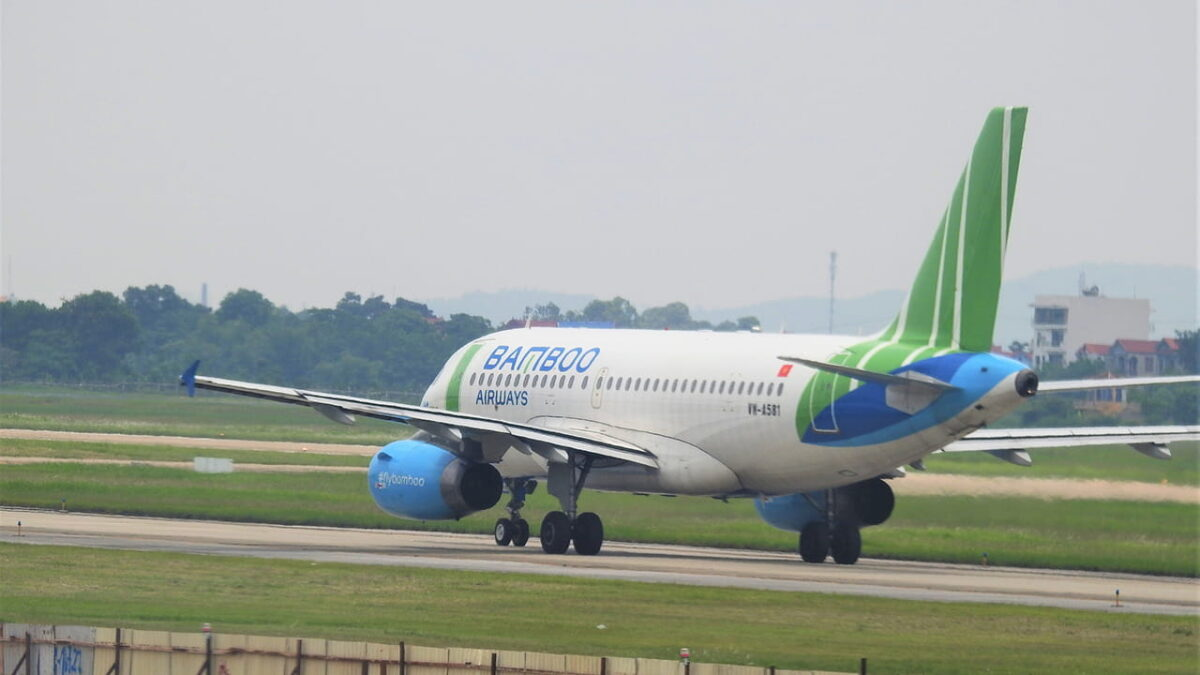 Bamboo Airways at VCA Airport