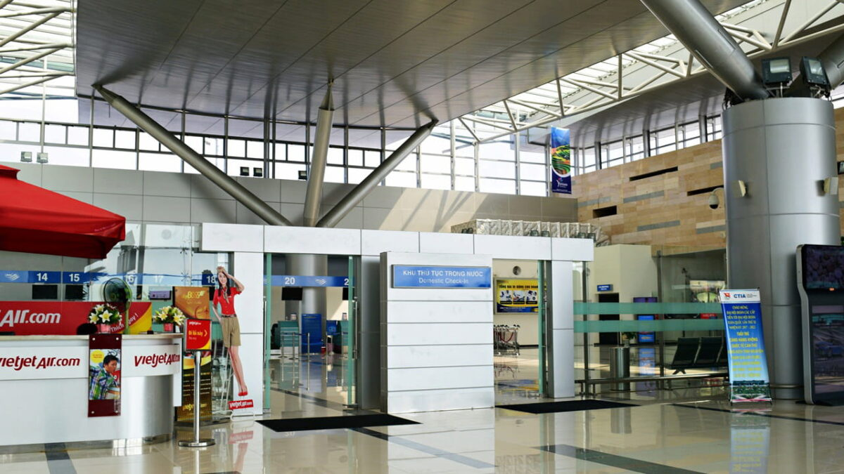 Domestic Check-in at Can Tho Airport