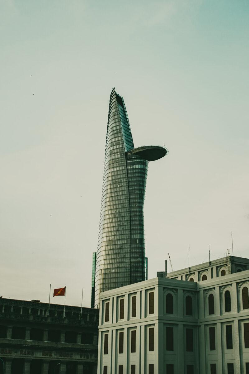 Bitexco Tower in Sai Gon
