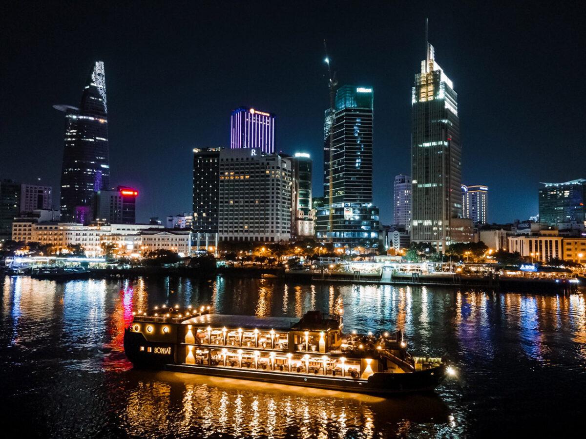 Bonsai Cruise on Sai Gon river