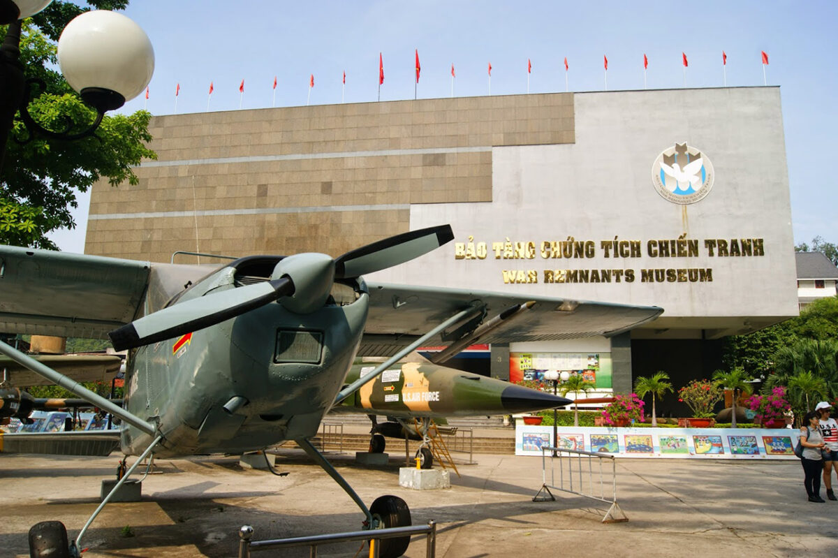 War Remnant's Museum in Sai Gon