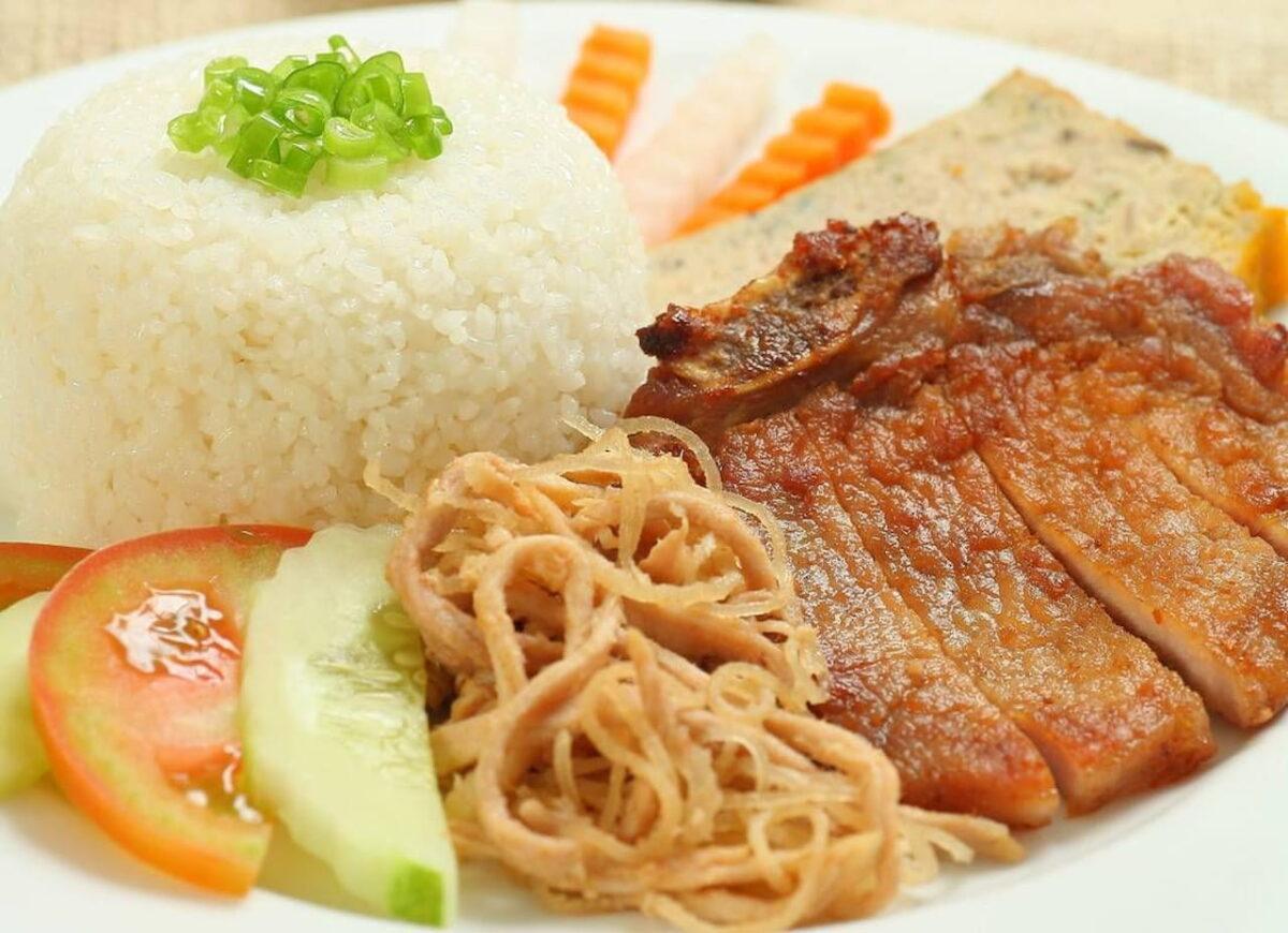 Broken rice in Minh Phat 2-3 restaurant