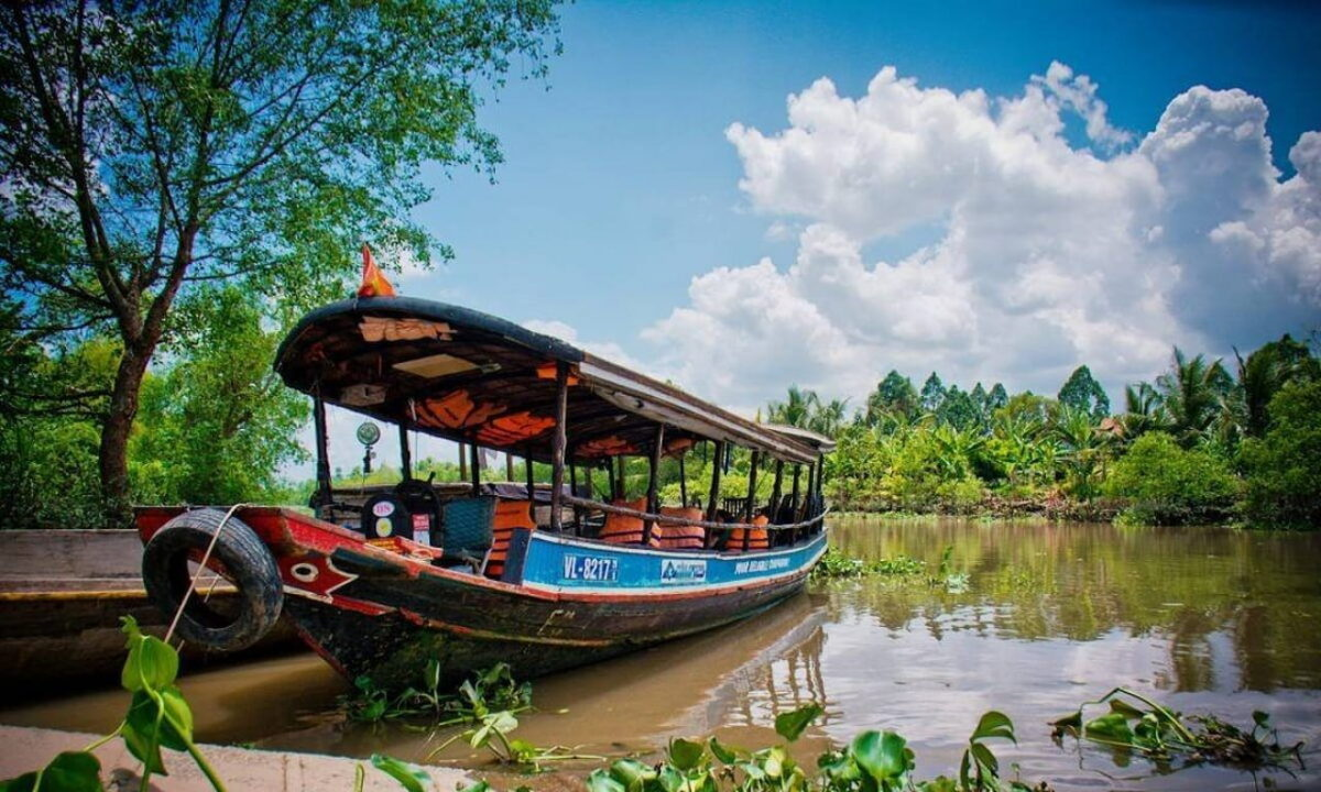 What to do in Vinh Long - The fresh air in Vinh Long City
