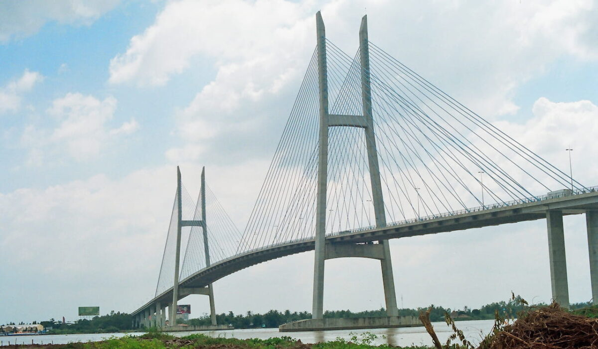 What to do in Vinh Long - My Thuan Bridge