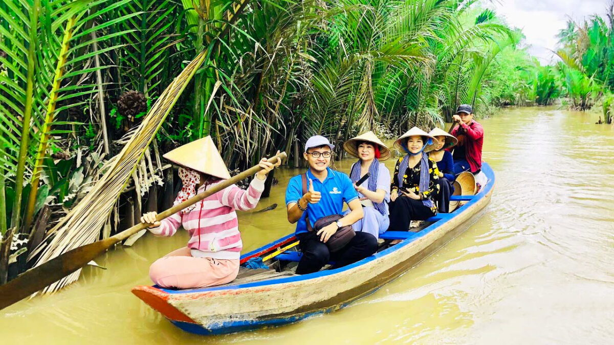 What to do in Tien Giang - Explore Thai Son islet by boat