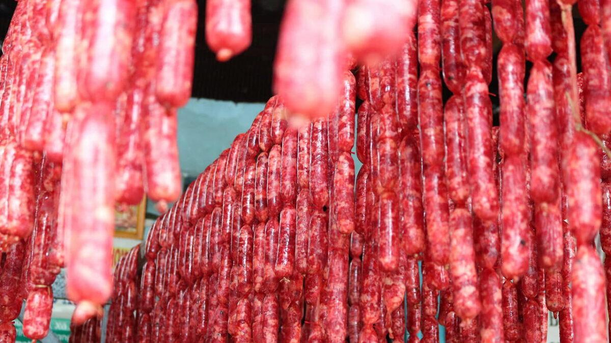 Tung Lo Mo sausage