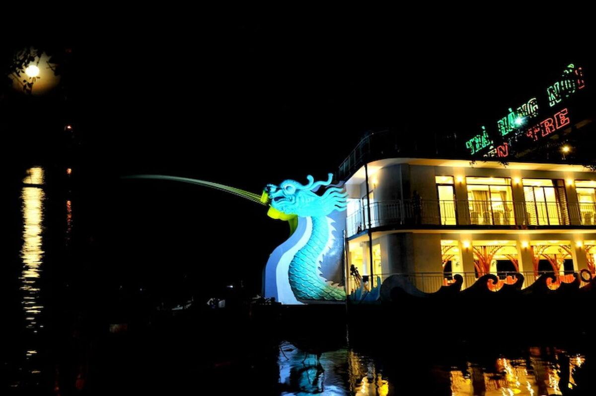 Where to eat in Ben Tre - Ben Tre floating restaurant