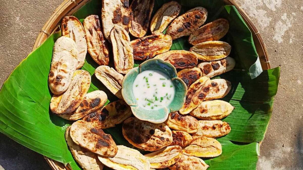 What to eat in Ben Tre - Ben Tre flattened grilled banana