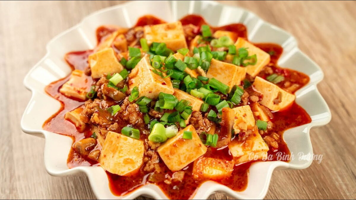 The Sichuan tofu in Dong Khoi 2 restaurant